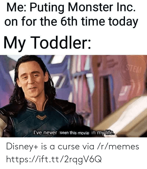 Disney, Memes, and Via: Disney+ is a curse via /r/memes https://ift.tt/2rqgV6Q