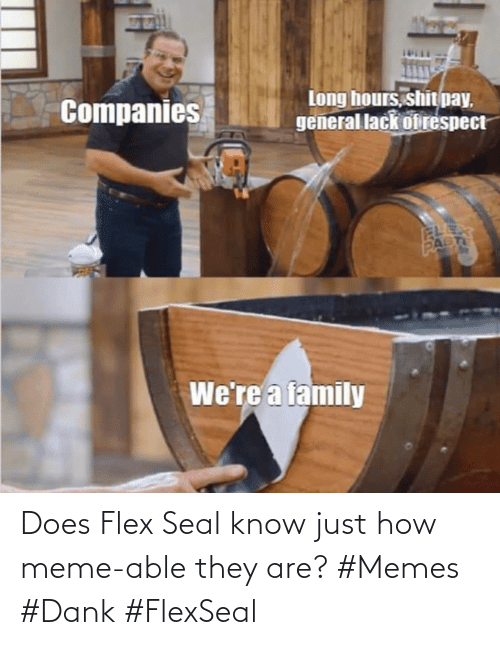 Able: Does Flex Seal know just how meme-able they are? #Memes #Dank #FlexSeal