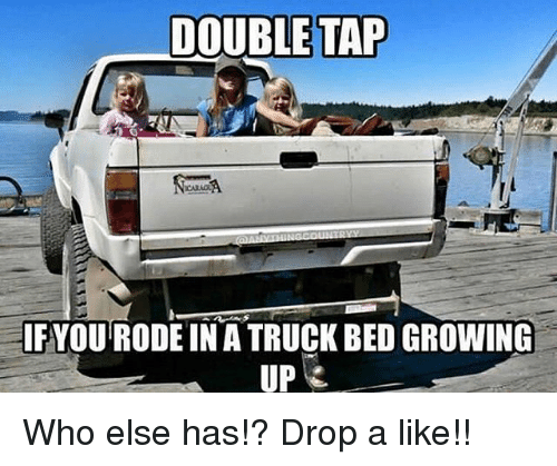 bedding: DOUBLE TAP  IFYOU RODE IN A TRUCK BED GROWING  UP Who else has!? Drop a like!!