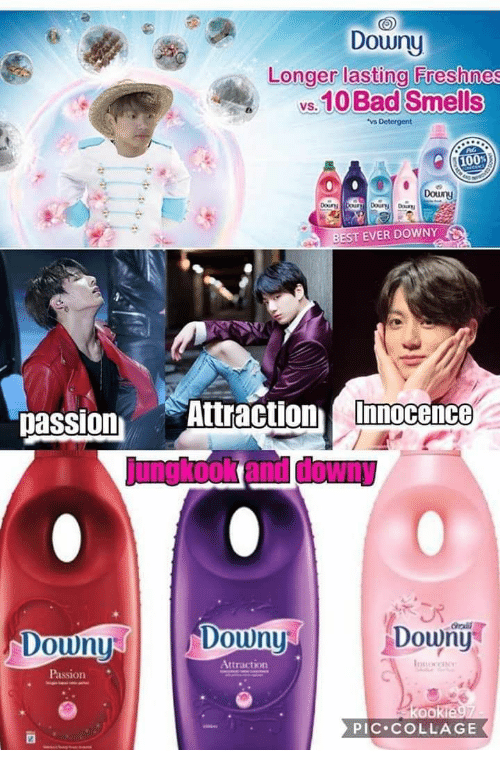 best ever: Downy  Longer lasting Freshnes  s.10 Bad Smells  Douny  BEST EVER DOWNY  passion Attraction Imocene  Downy  rali  Doun  Douny  Attraction  Passion  PIC COLLAGE