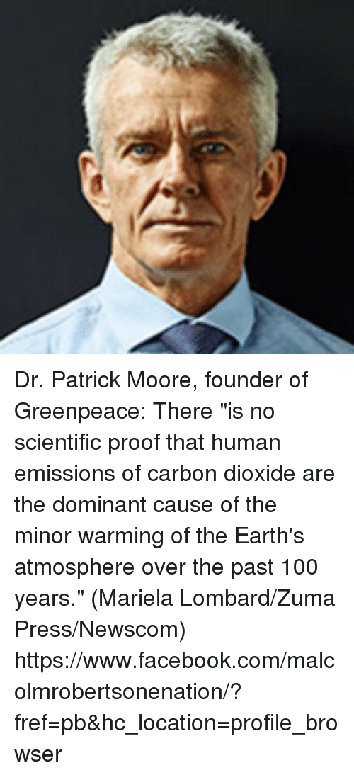 patrick moore cofounder of greenpeace essay Canadian ecologist patrick moore, known as one of the co-founders of the activist group greenpeace, has a history of sharply dissenting from policies supported by major environmental groups.