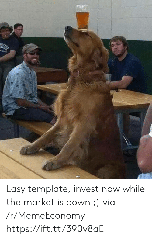 template: Easy template, invest now while the market is down ;) via /r/MemeEconomy https://ift.tt/390v8aE