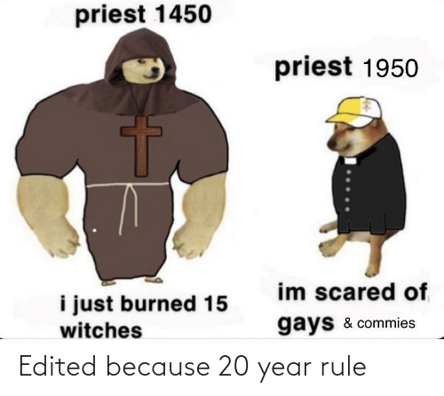 because: Edited because 20 year rule