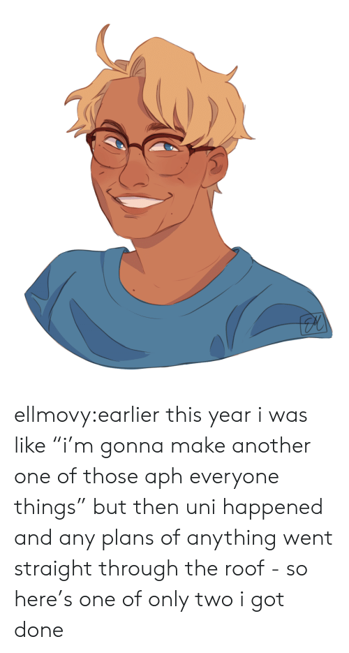 """Another One, Target, and Tumblr: ellmovy:earlier this year i was like """"i'm gonna make another one of those aph everyone things"""" but then uni happened and any plans of anything went straight through the roof - so here's one of only two i got done"""