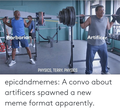 apparently: epicdndmemes:  A convo about artificers spawned a new meme format apparently.