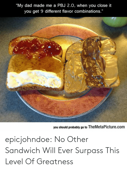 ever: epicjohndoe:  No Other Sandwich Will Ever Surpass This Level Of Greatness