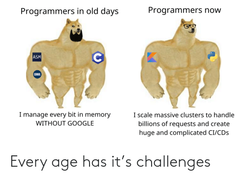 Every: Every age has it's challenges