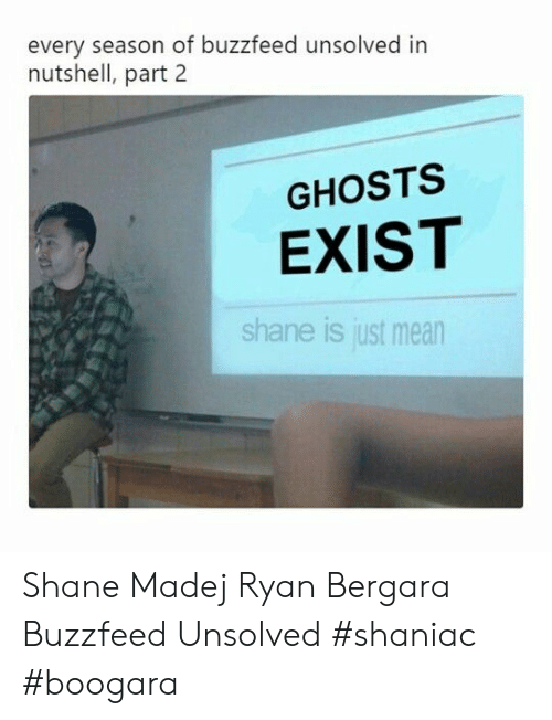 Every Season of Buzzfeed Unsolved in Nutshell Part 2 GHOSTS