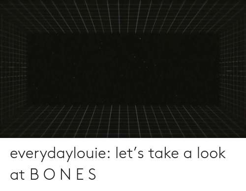 Tumblr, Blog, and Http: everydaylouie: let's take a look at B O N E S