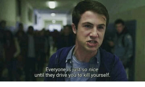 Drive, Nice, and They: Everyone is just so nice  until they drive you to kill yourself.