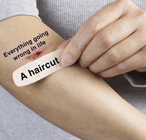 Haircut, Life, and Everything: Everything going  wrong in life  A haircut