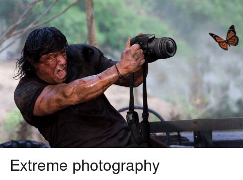 Photography, Extreme, and Extreme Photography: Extreme photography