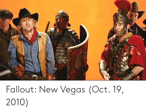 Las Vegas, Fallout, and Fallout New Vegas: Fallout: New Vegas (Oct. 19, 2010)