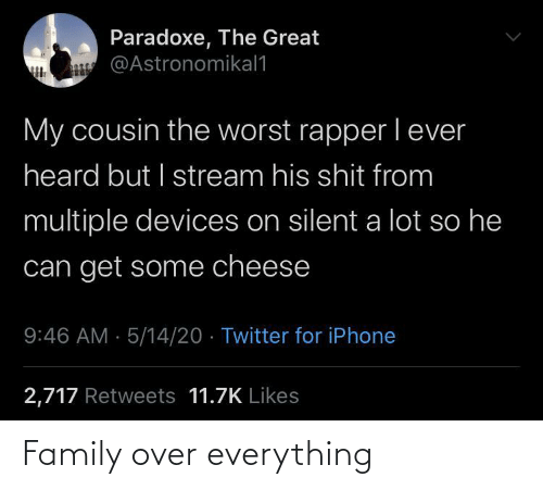 everything: Family over everything