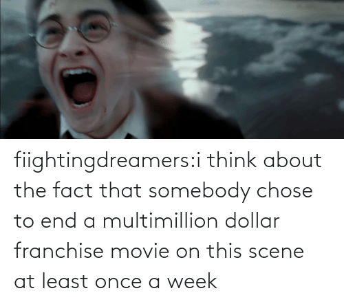 end: fiightingdreamers:i think about the fact that somebody chose to end a multimillion dollar franchise movie on this scene at least once a week