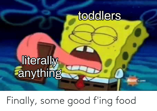 fing: Finally, some good f'ing food