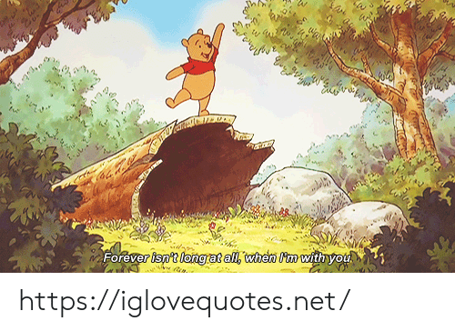 Forever, Net, and All: Forever isn't long at all, when m withyou https://iglovequotes.net/