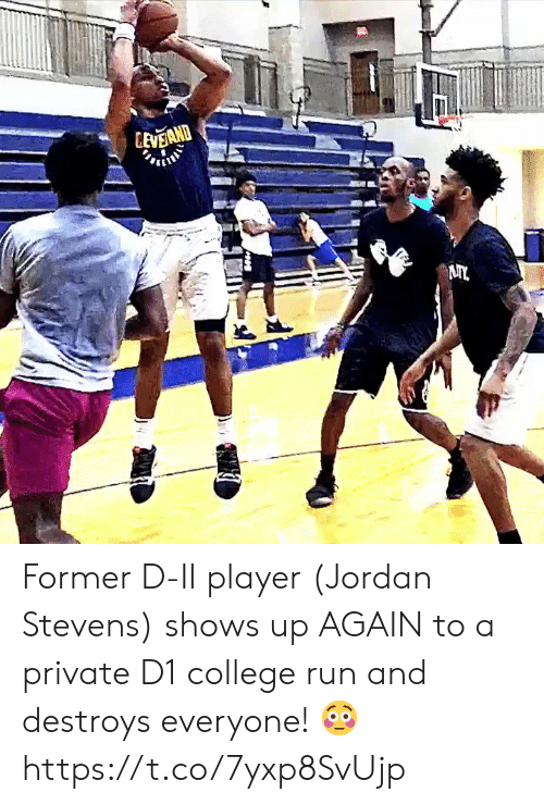 College, Memes, and Run: Former D-II player (Jordan Stevens) shows up AGAIN to a private D1 college run and destroys everyone! 😳 https://t.co/7yxp8SvUjp