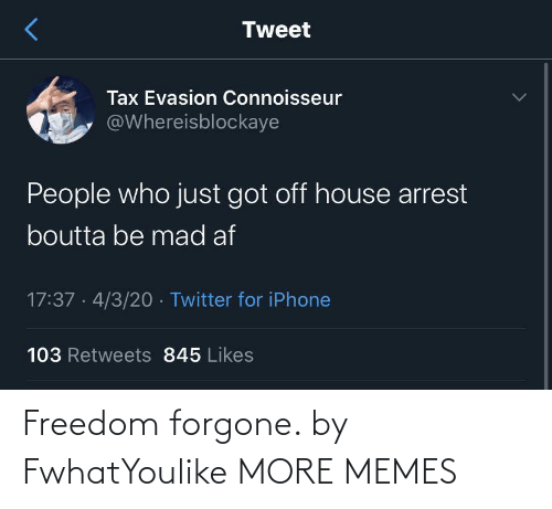 Freedom: Freedom forgone. by FwhatYoulike MORE MEMES