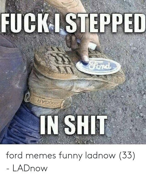 Ford Memes Funny: FUCK LSTEPPED  ord  OUGAR  IN SHIT ford memes funny ladnow (33) - LADnow