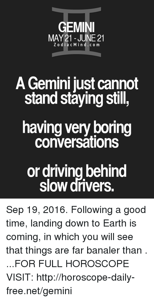 About gemini things a All About