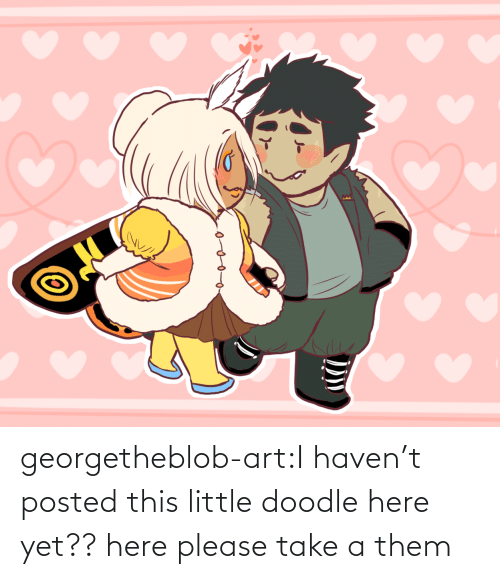Doodle: georgetheblob-art:I haven't posted this little doodle here yet?? here please take a them