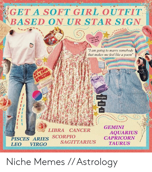 GET a SOFT GIRL OUTFIT BASED ON UR STAR SIGN I Am Going to
