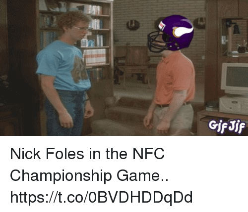 loveforquotes.com: GifJif Nick Foles in the NFC Championship Game.. https://t.co/0BVDHDDqDd