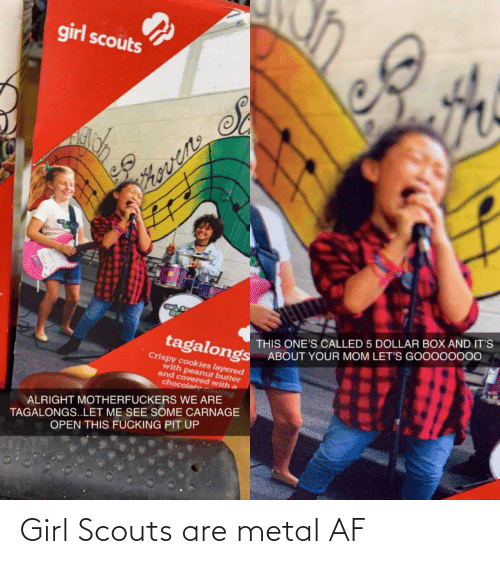 Metal: Girl Scouts are metal AF
