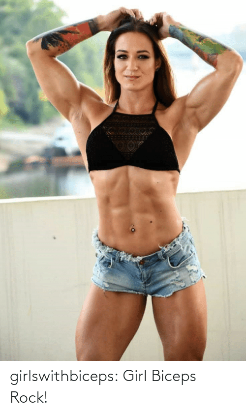 Girl: girlswithbiceps:  Girl Biceps Rock!
