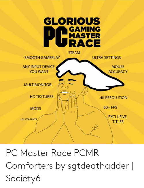 GLORIOUS GAMING MASTER RACE STEAM SMOOTH GAMEPLAY ULTRA SETTINGS