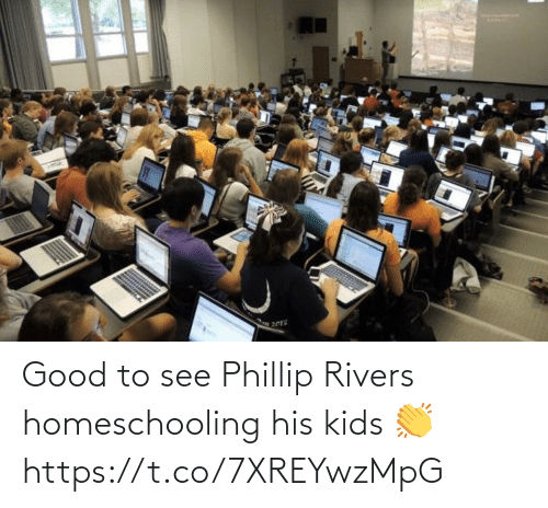 sports: Good to see Phillip Rivers homeschooling his kids 👏 https://t.co/7XREYwzMpG