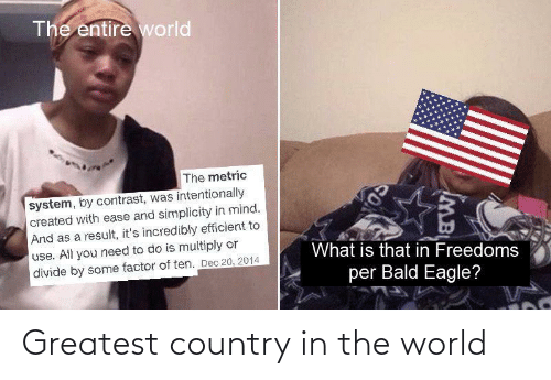 country: Greatest country in the world
