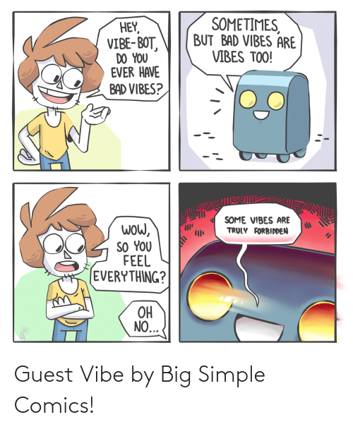 Vibe: Guest Vibe by Big Simple Comics!