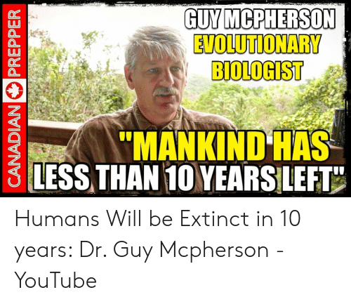 Image result for Professor Guy McPherson