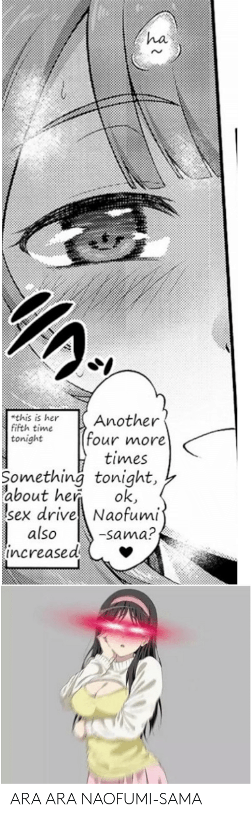 Anime, Sex, and Drive: ha  rt heAnother  tonight four more  times  Something tonight,  about he ok  sex drive Naofumi  also  this is  fifth time  Sama?  increased ARA ARA NAOFUMI-SAMA