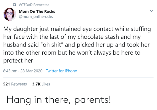 Hang: Hang in there, parents!