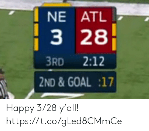 sports: Happy 3/28 y'all! https://t.co/gLed8CMmCe