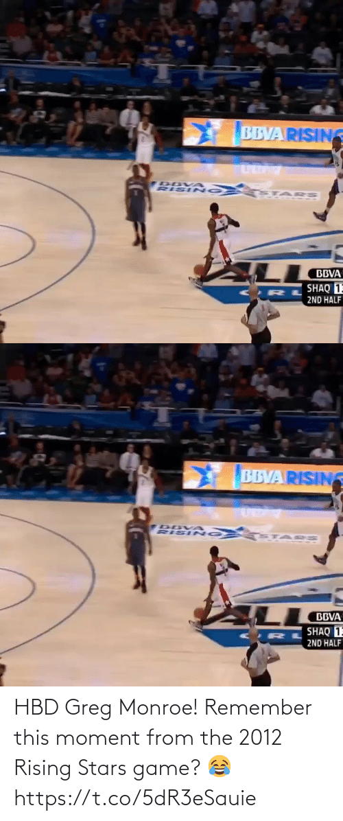 Game: HBD Greg Monroe! Remember this moment from the 2012 Rising Stars game? 😂 https://t.co/5dR3eSauie