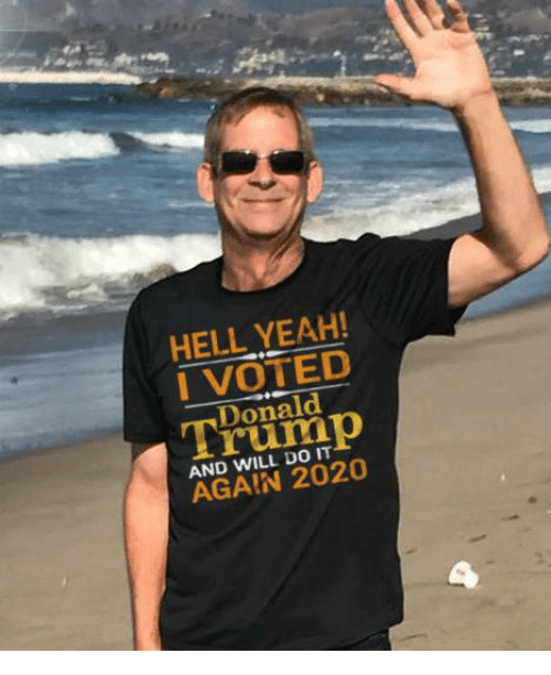 i voted: HELL YEAH!  I VOTED  ald  AND WILL DO IT  AGAIN 2020