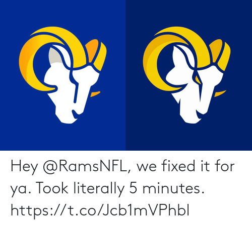 sports: Hey @RamsNFL, we fixed it for ya. Took literally 5 minutes. https://t.co/Jcb1mVPhbl