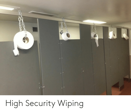 security: High Security Wiping