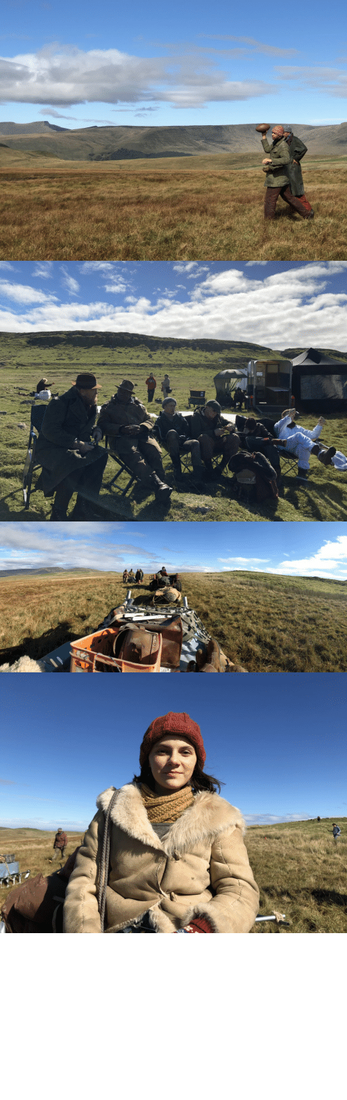 scenes: #HisDarkMaterials Behind The Scenes Ep. 5 The Gyptians between camera setups, heading North https://t.co/qmY99TlWeN