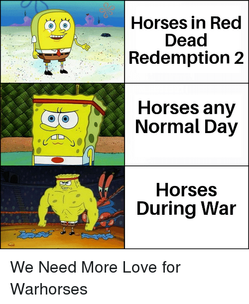Horses, Love, and History: Horses in Red  Dead  Redemption 2  Horses any  Normal Day  Horses  During War