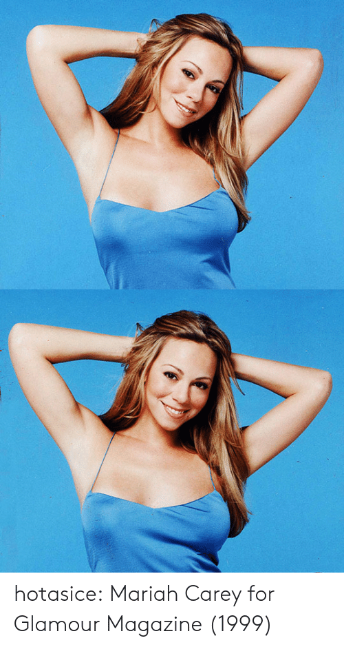 mariah carey: hotasice: Mariah Carey for Glamour Magazine (1999)