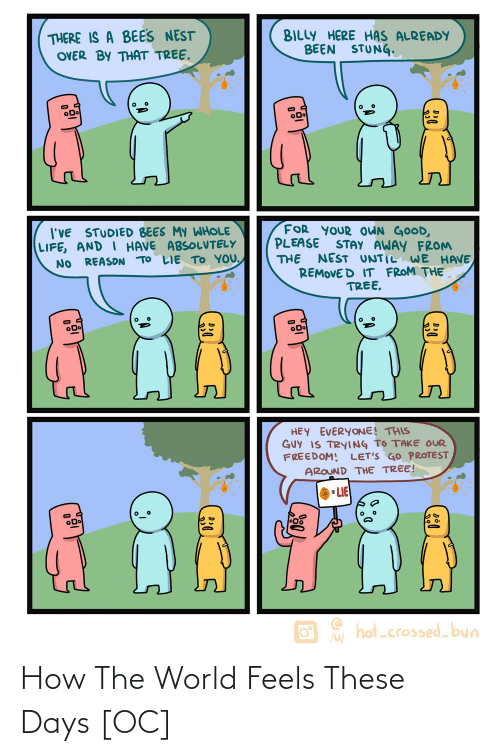 feels: How The World Feels These Days [OC]