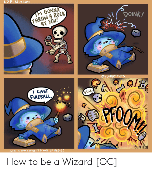 wizard: How to be a Wizard [OC]