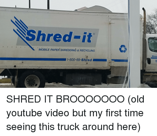 youtube.com, Mobile, and Time: hred-it  MOBILE PAPER SHREDDING&RECYCLING  Shrec  15  1-800-69-Shred