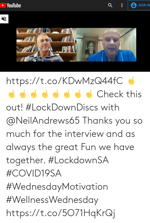 Love for Quotes: https://t.co/KDwMzQ44fC ☝️☝️☝️☝️☝️☝️☝️☝️☝️  Check this out! #LockDownDiscs with @NeilAndrews65  Thanks you so much for the interview and as always the great Fun we have together.   #LockdownSA #COVID19SA #WednesdayMotivation #WellnessWednesday https://t.co/5O71HqKrQj