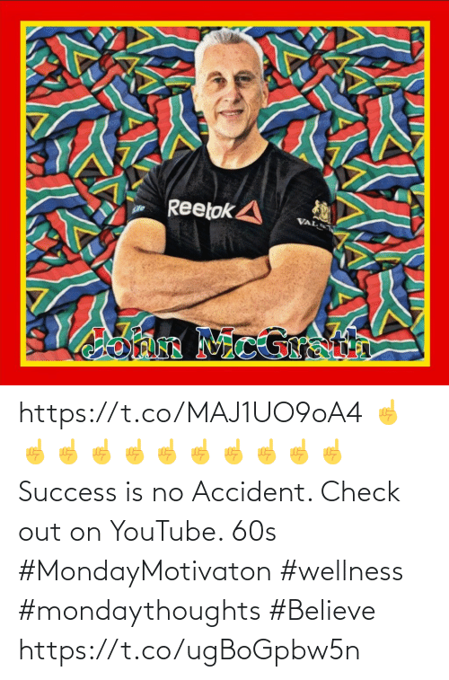 Love for Quotes: https://t.co/MAJ1UO9oA4 ☝️☝️☝️☝️☝️☝️☝️☝️☝️☝️☝️ Success is no Accident.  Check out on YouTube. 60s  #MondayMotivaton #wellness  #mondaythoughts #Believe https://t.co/ugBoGpbw5n